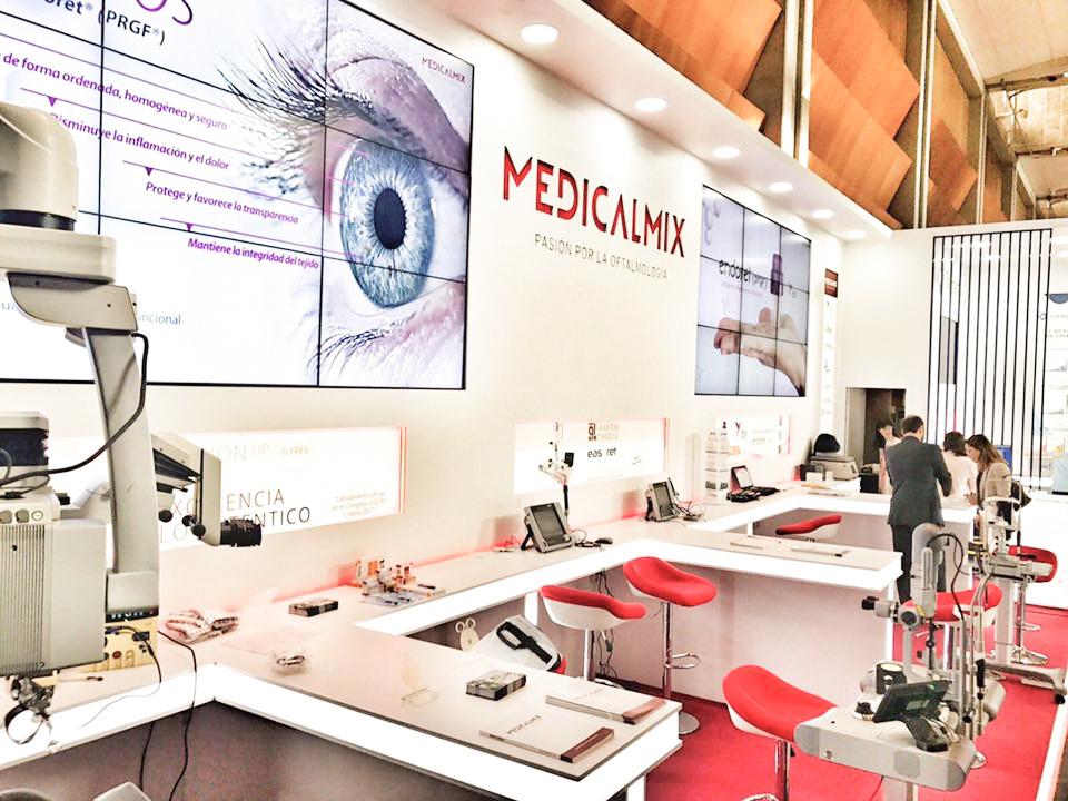 Mobiliario de exposición Medicalmix