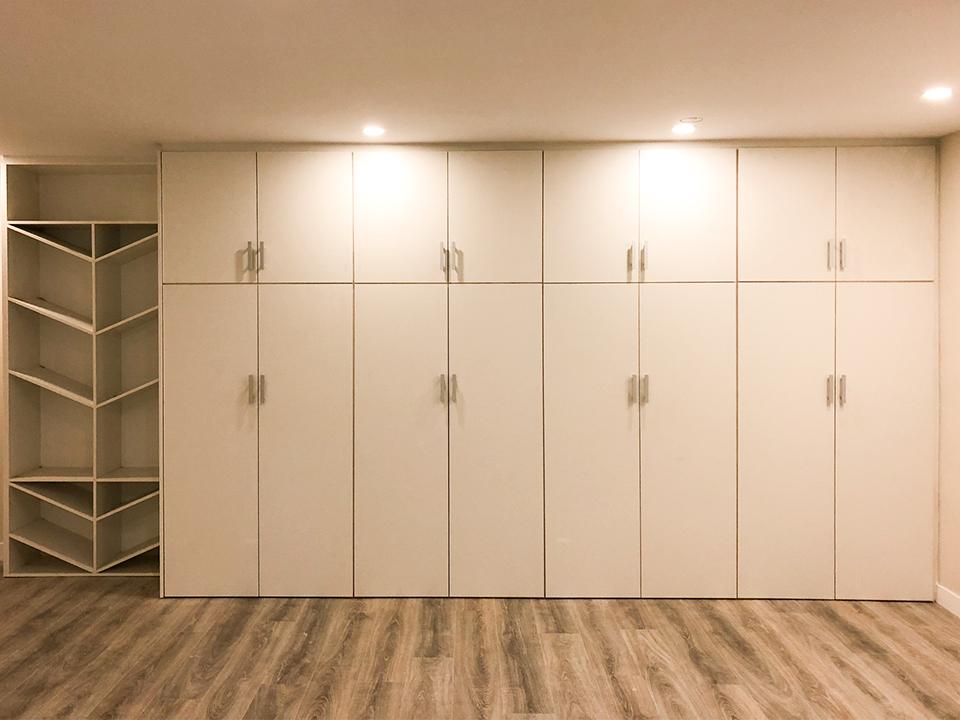 Armarios y mobiliario para particulares y el hogar
