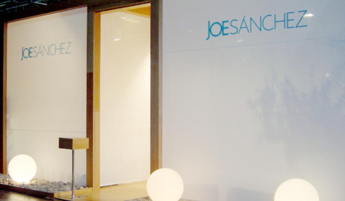 Stand de feria y mobiliario para comercio para la empresa Joe Sánchez