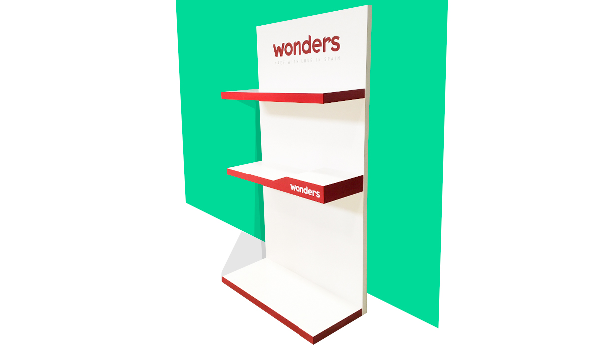 Expositor para comercio - Wonders