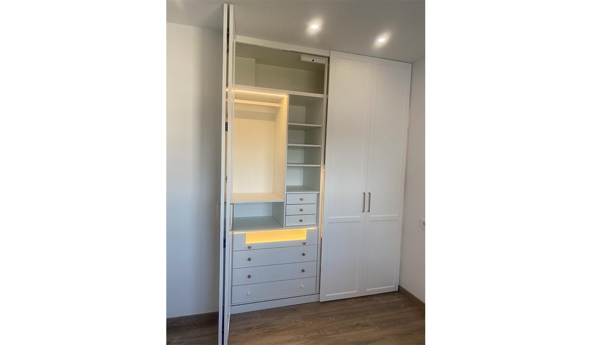 Mobiliario para particulares armario interior